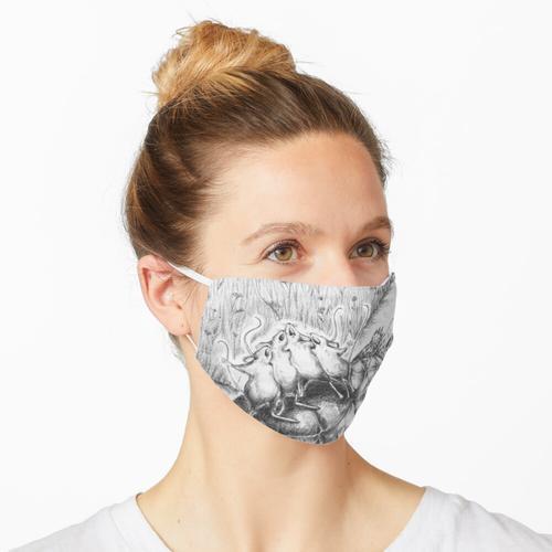 Nach Cheesetown gehen Maske