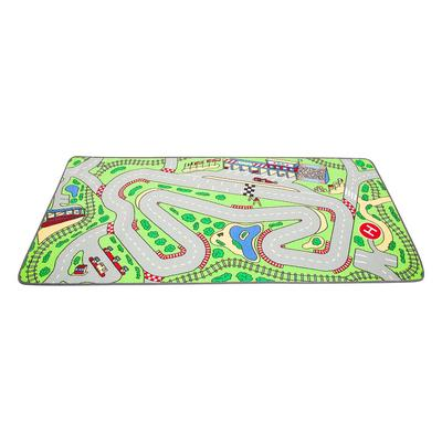 Racetrack Play Carpet - Children's Factory LC205