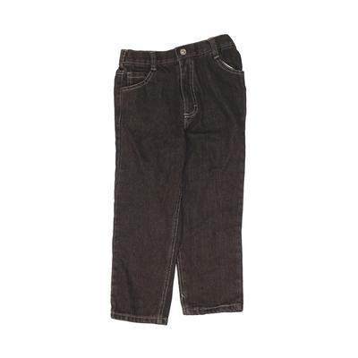 Jeans - Elastic: Gray Bottoms - ...