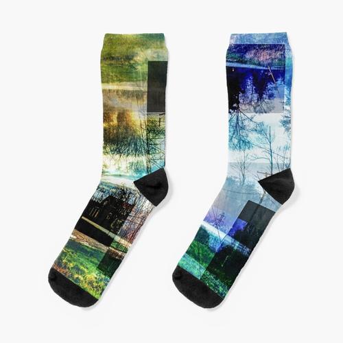 Landschaft # 2 Socken