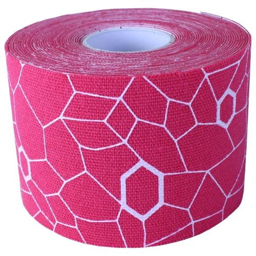 Thera-Band - Kinesiology Tape Rolle - Tape Gr 5 m - 5 cm rosa/weiß