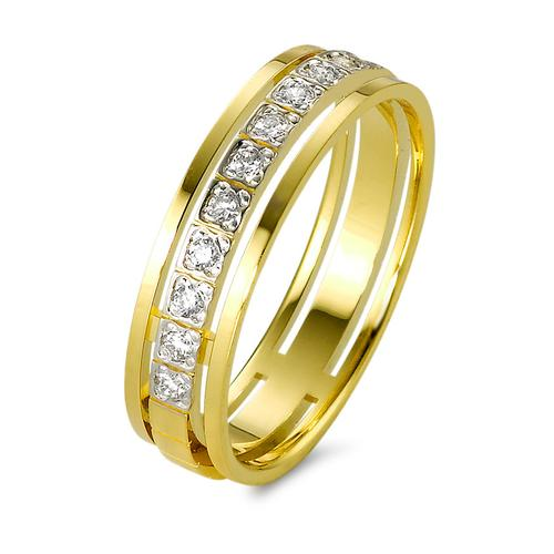 Ring Gold 750 mit Diamanten