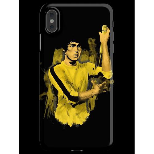 Bruce Lee gelber Anzug iPhone XS Max Handyhülle