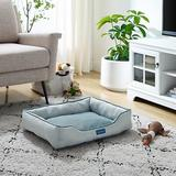 Sam's Pets Arthur Dog Bed, Gray, Small