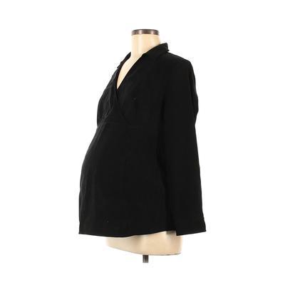 Motherhood Long Sleeve Blouse: B...