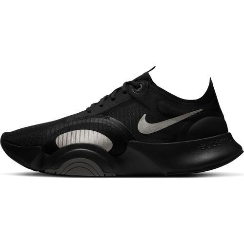 Nike SUPERREP GO Fitnessschuhe Herren in black-mtlc pewter-iron grey-mtlc pewter, Größe 44 1/2