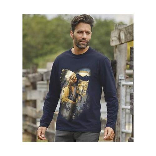 T-Shirt mit herrlichem Motivdruck