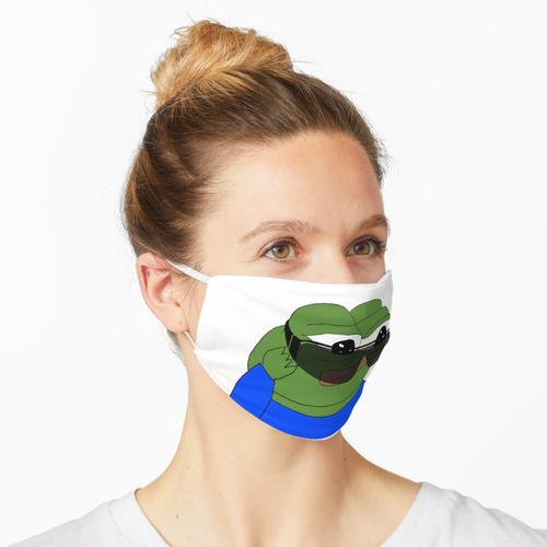 Sonnenbrille Pepe The Frog, SELTENE Pepe The Frog, Pepe The Frog mit Sonnenbrille, Big Sunglas Maske
