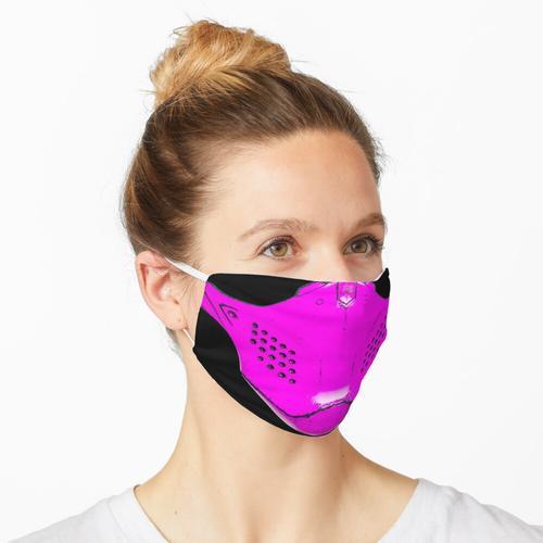 Rosa Paintball-Maskenschutz Maske
