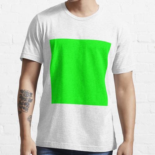 Greenscreen Grün Farbe Essential T-Shirt