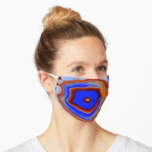 Transparenter Achat Maske