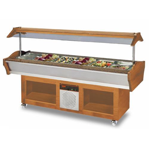 SB C GN220 01 Salattheke Buffetwagen Salatbar Salatbuffet Salatbüffet