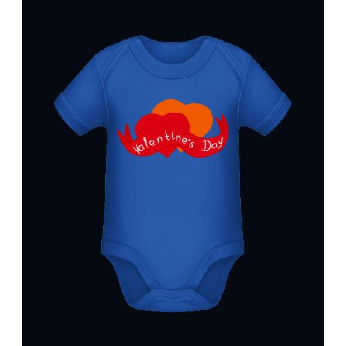 Valentinstag Logo - Baby Bio Strampler