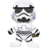 Fetch for Pets Star Wars Storm Trooper Plush Flattie Dog Toy, 9-in