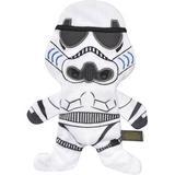 Fetch for Pets Star Wars Storm Trooper Plush Flattie Dog Toy, 6-in