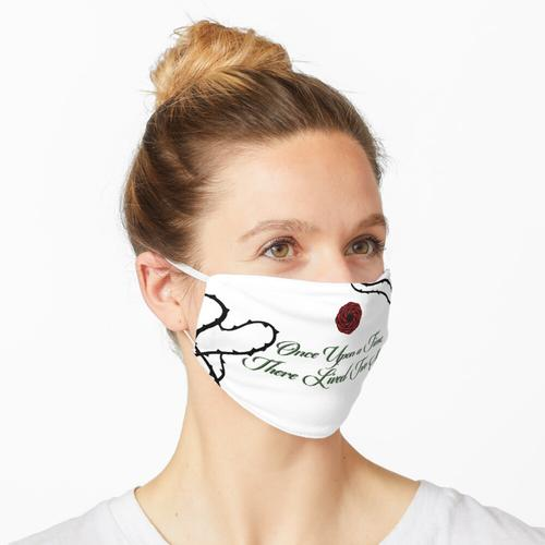 Rosenrot Maske