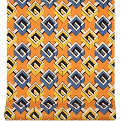Gucci Tapete mit geometrischem G Print
