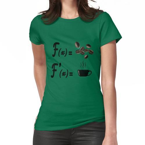Mathe und Kaffee, Kaffee für Lehrer, lustiger Kaffee, lustige Mathe. Frauen T-Shirt