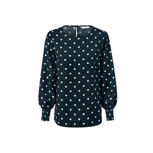 Gepunktete Bluse
