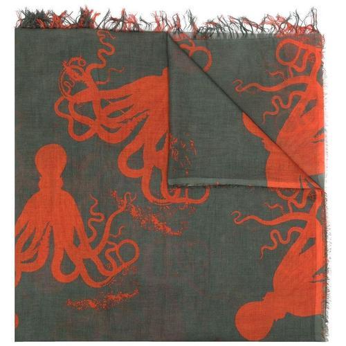Uma Wang Schal mit Tintenfisch-Print