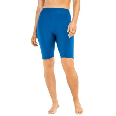 Plus Size Women's Swim Bike Short by Swim 365 in Dream Blue (Size 32)