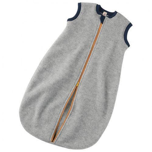 Engel - Baby-Schlafsack mit Reißverschluss - Kinderschlafsack Gr 74/80 Grau