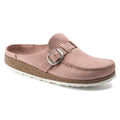 BIRKENSTOCK Buckley Nubuck Leather Soft Pink Low Shoes