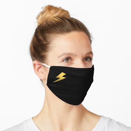 Gold Blitz - Goldfolie Maske