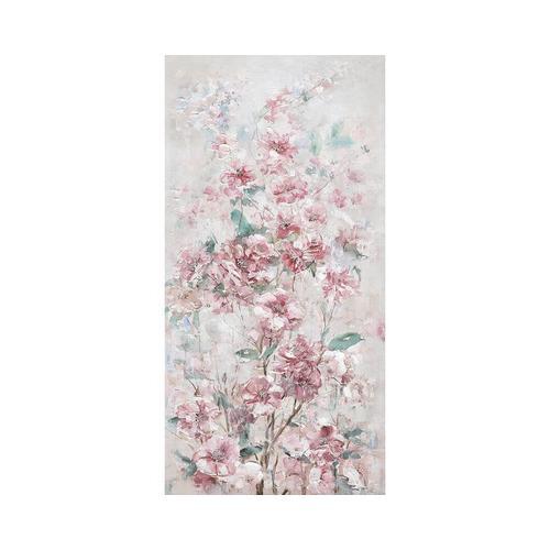 """La Casa Ölbild handbemalt """"Kirschblüten in rosa"""" 60x120 cm 202012"""