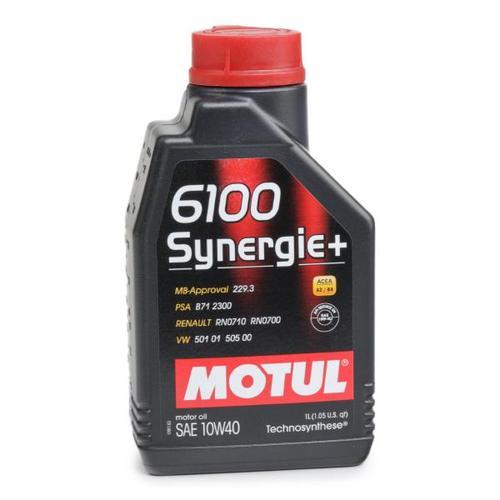 MOTUL Motoröl 6100 SYNERGIE+ 10W40 108646