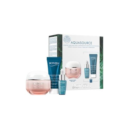 Biotherm Gesichtspflege Aquasource Aquasource Crème Riche Set Aquasource Crème Riche 50 ml + Life Plankton Elixir 7 ml + Aquasource Night Spa 20 ml 1 Stk.