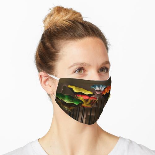 Glasschalen Maske
