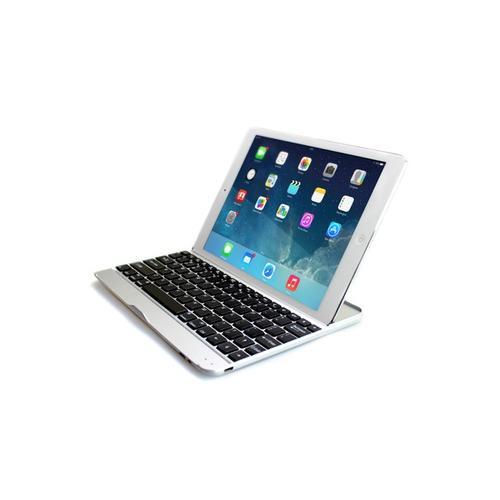 Alu-Tastatur : iPad 4 + USB-Kabel