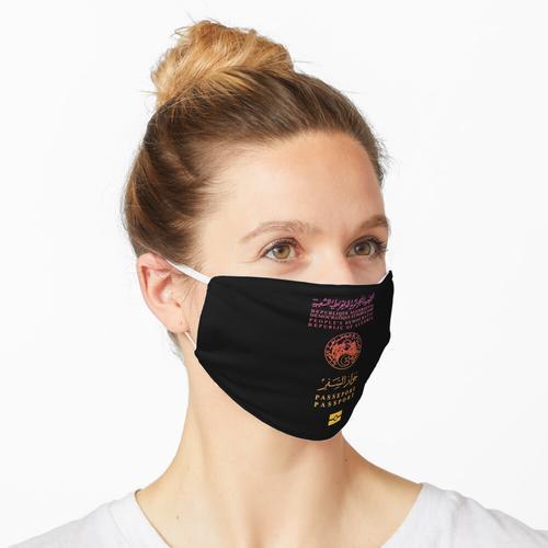 Algerischer Pass Maske