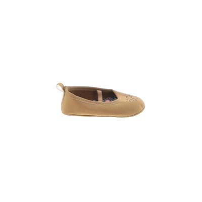 Carter's Flats: Brown Solid Shoe...