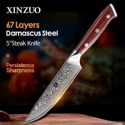 XINZUO couteau à Steak 5 ''pouce...