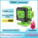 Huepar 12 Lignes 3D Niveau Laser...