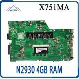 X751MD Carte Mère N2930 4 GO RAM...