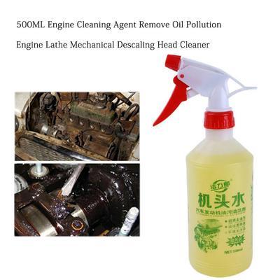 Nettoyant pour moteur de voiture, 500ML, élimine la Pollution par l'huile, moteur, tour, détartrage
