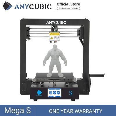 Kit imprimante Anycubic 3D TPU Mega-S avec écran tactile, nouveau modèle I3, grande taille