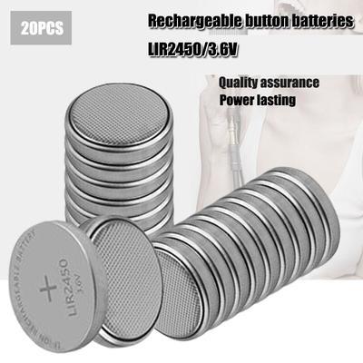 Lot de 20 Batteries Lithium-ion ...