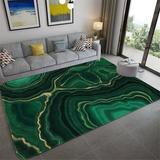 Abstrait marbre vert chambre tap...