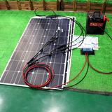 Panneau solaire flexible 12v, 10...