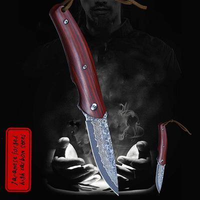Couteau pliant en palissandre da...