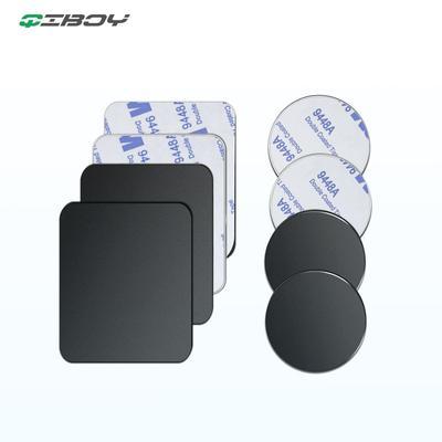 Plaque métallique adhésive de remplacement pour téléphone portable 3M, plaque métallique magnétique