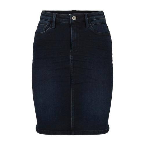 TOM TAILOR Damen Jeansrock, blau, Gr.34