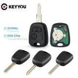 KEYYOU – clé télécommande à 2 bo...