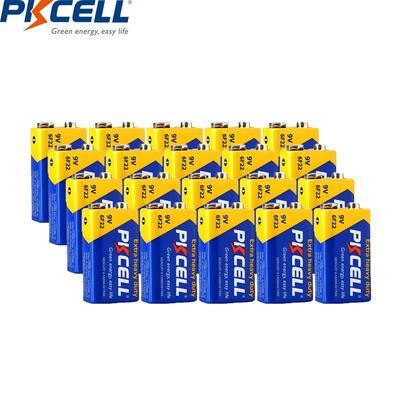 PKCELL – batterie 9 V 6F22, 20 p...