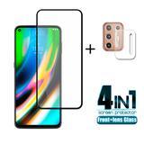 4-en-1 pour Motorola Moto G9 Plu...