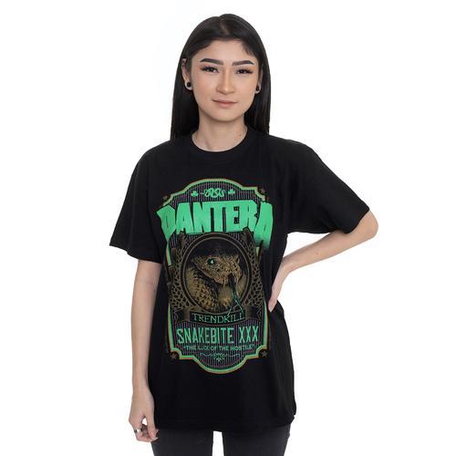 Pantera - Snakebite XXX Label - - T-Shirts